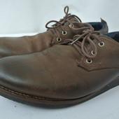 Классические мужские фирменные туфли The Force размер 46. Длина по стельке 30.5 см.