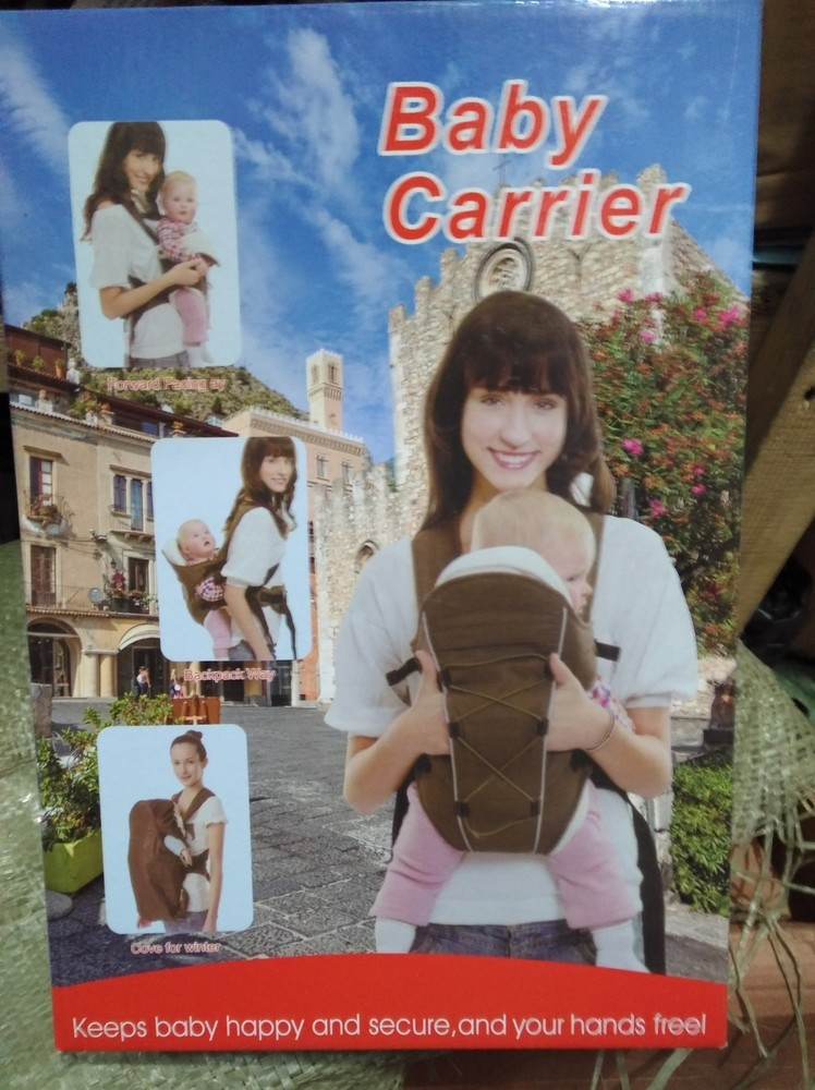 Рюкзак, кенгуру, слинг baby carrier 809, до 14 кг фото №7