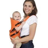 Рюкзак кенгуру слинг Baby Carrier ВС8004, для переноски детей