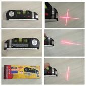 Ручной лазерный уровень Level Pro 3, рулетка, линейка, подсветка