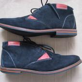 Varese (41,5) замшевые ботинки мужские