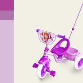 Велосипед 3-х колес SFT0101   с ручкой, колеса eva