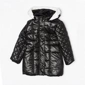 Стеганная удлиненная курточка Minoti на 3-4 года