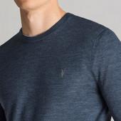 Allsaints мужской свитер 100% мериносовая шерсть L-XL-размер.Оригинал