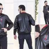 Куртка кожа  Gucci