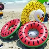 Надувной круг Арбуз (кавун) для детей и взрослых все размеры