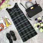 Аккуратное повседневное платье New Look в классическую клетку  DR1810103