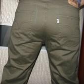 Брендовие оригинал стильние брюки Levi's (Левис).м-л .