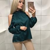 Женская блузка из шёлка