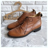 Кожаные мужские ботинки Samuel Windsor рр 42,5