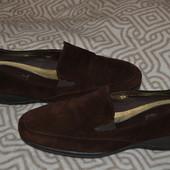 брендовые туфли Footglove 23.5 см 36-37 размер Англия замша