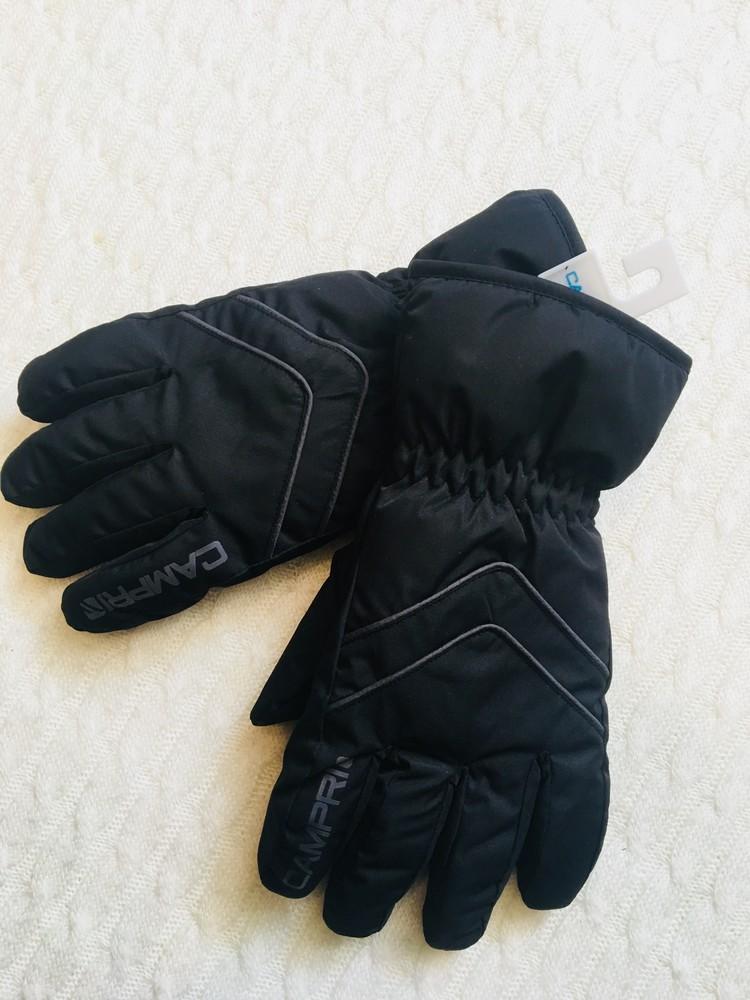 Зимние лыжные мужские перчатки campri, англия, размер м фото №1