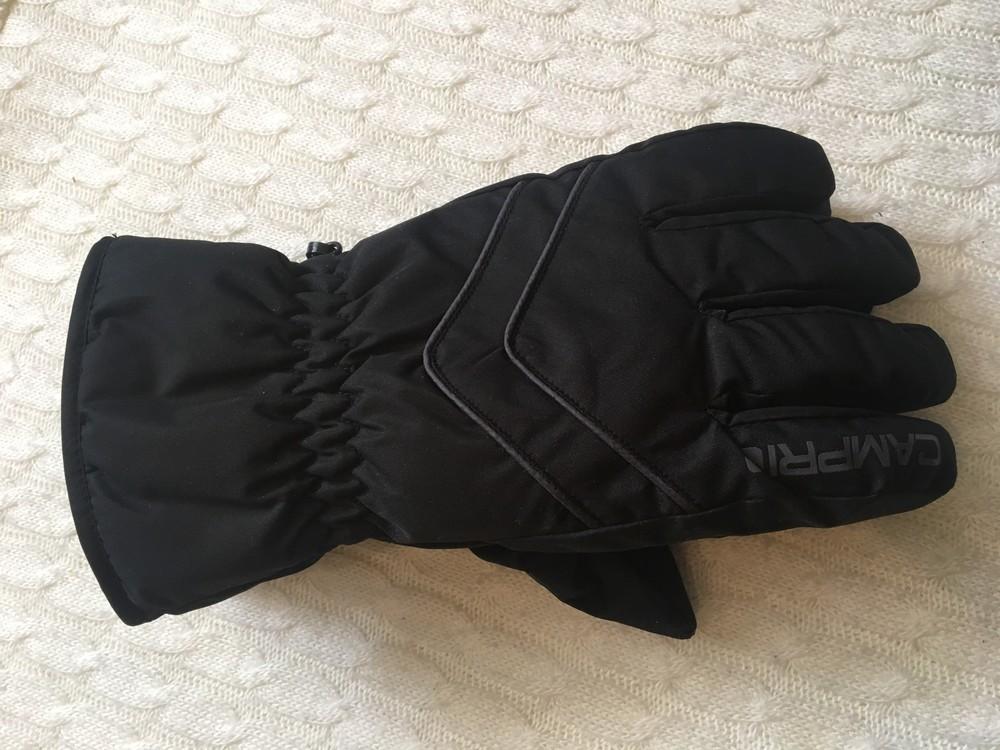 Зимние лыжные мужские перчатки campri, англия, размер м фото №5