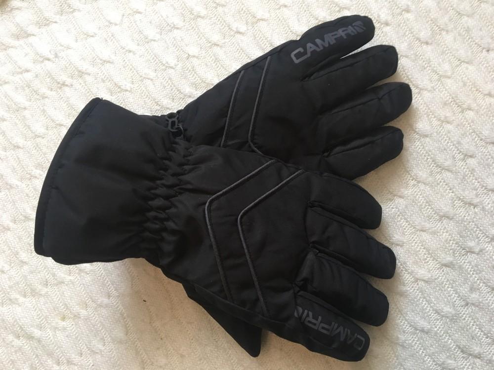 Зимние лыжные мужские перчатки campri, англия, размер м фото №6