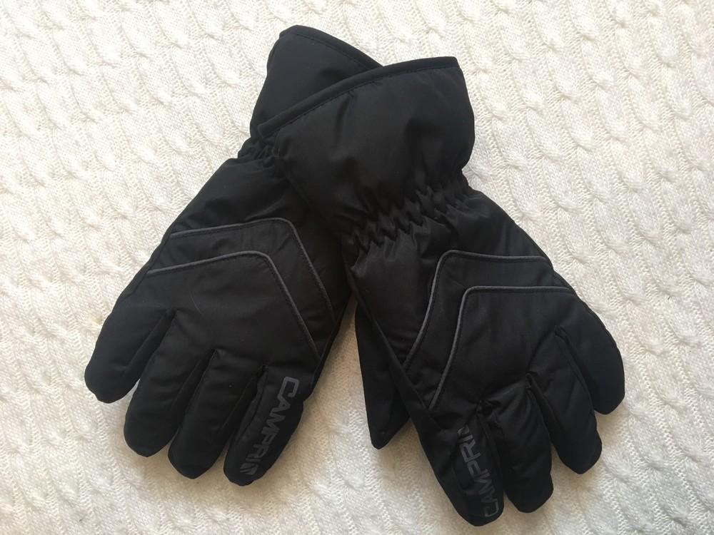 Зимние лыжные мужские перчатки campri, англия, размер м фото №7