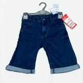 Джинсовые шорты на мальчика 6 лет.