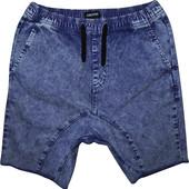 Мужские шорты джинсовые на шнуровке Zanerobe M