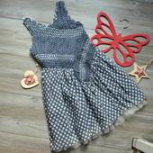 Платье в горошек M&S (6-7 лет)-