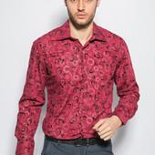 Рубашка мужская , яркий принт, качество!