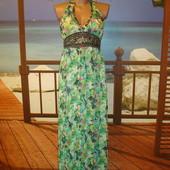 Платье\сарафан в пол\макси р.10-12 Ax Paris