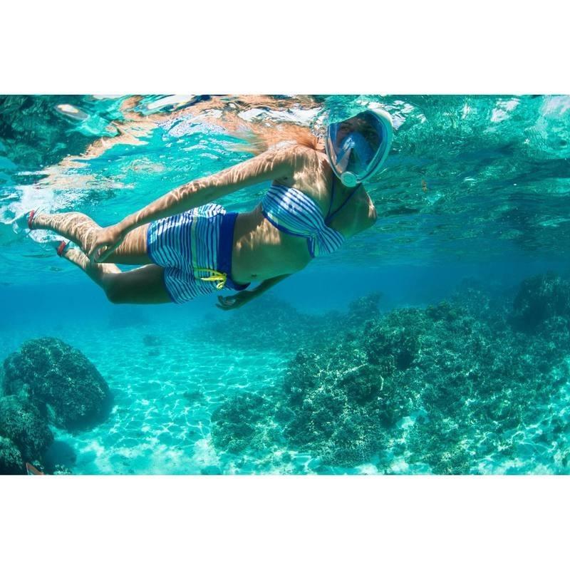 Маска для сноркелинга easybreath subea  для плаванья на поверхности фото №2