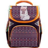 Рюкзак школьный каркасный 18-5001S-4