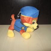 Мягкая игрушка щенячий патруль гонщик , скай