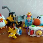 Наши игрушки mothecare, fisherprice, tommy, chicco