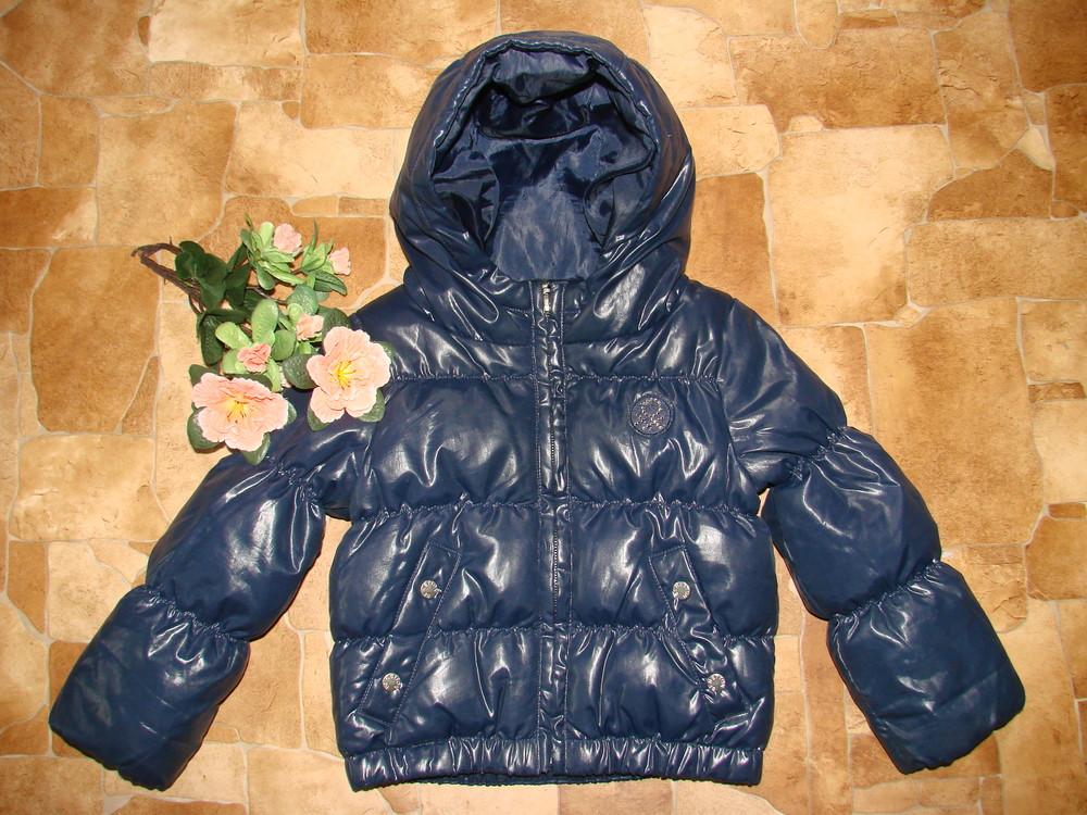Куртка-пуховик benetton италия 1-1,5 года холодная осень-весна в идеальном состоянии фото №1