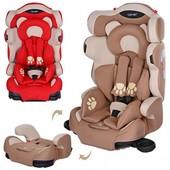 Детское автокресло, мишки с лапками, Bambi M 3653