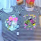 Платье туника для девочки, хлопок 100%, Китти, кеды