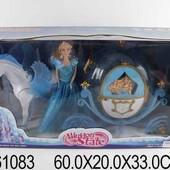 Карета с пегасом и куклой музыкальная 1361083