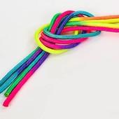 Скакалка для художественной гимнастики радуга 6271: длина 3м, диаметр 10мм