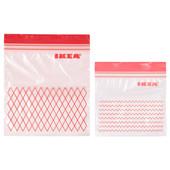 Пакет пластиковый для заморозки, 60 шт 203.392.84 Istad, Истад Икеа Ikea В наличии