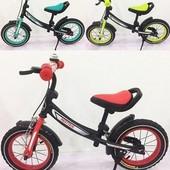 Беговел Balans Tilly 12 Matrix T-21259 Turquoise акция 14 дней. велобег велобеги