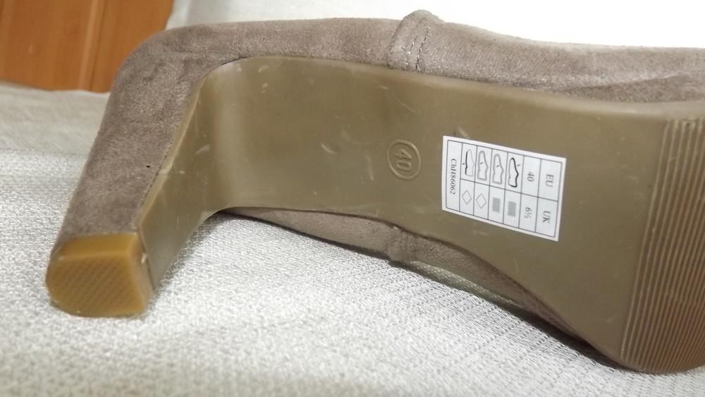 Ботильоны ботинки каблук esmara 36,37,38,39,40 размер фото №7