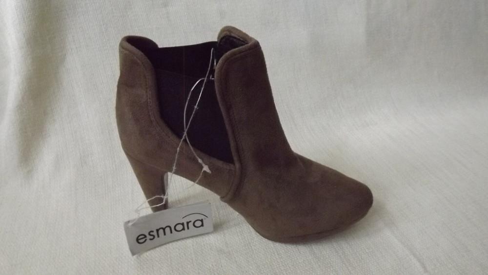 Ботильоны ботинки каблук esmara 36,37,38,39,40 размер фото №2