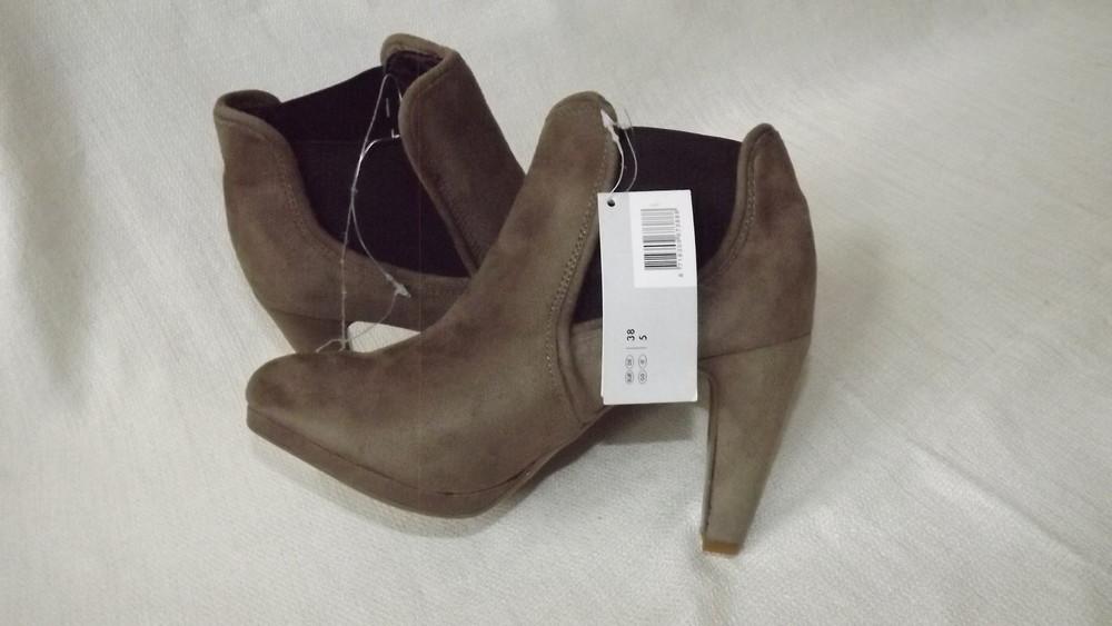 Ботильоны ботинки каблук esmara 36,37,38,39,40 размер фото №3