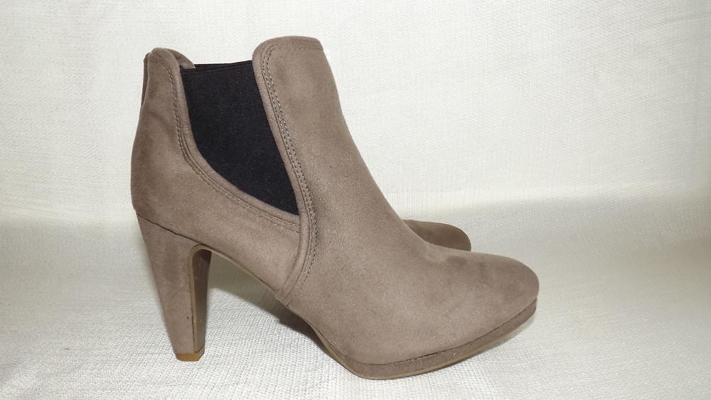 Ботильоны ботинки каблук esmara 36,37,38,39,40 размер фото №1