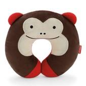 Skip Hop Дорожная подушка-подголовник обезьянка zoo monkey neckrest travel