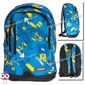 Школьный рюкзак для мальчика, городской рюкзак, 3 отделения, боковые карманы