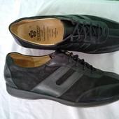 Туфли женские кожаные р.38 Ganter Германия, черные