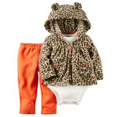 Carters костюм 24мес Леопард, флис комплект Картерс