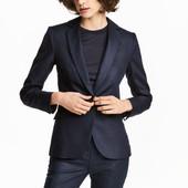 Жакет из смесового льна, H&M, XXS пиджак