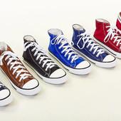 Кеды высокие Converse 3376: размер 39-45, 6 цветов
