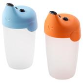 Чашка-непроливайка, детская поилка, 2 шт 201.375.73 Smaska, Смаска Икеа Ikea В наличии