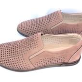 Мужские кожаные мокасины, туфли на лето, цвета