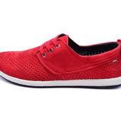 Мокасины 41,42,43,44,45 размер лето 2018 Multi-Shoes дышащие кожа перфорированные дышат туфли