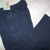 джинсовые брюки  Весна-Лето на резинке р-ры 50-58