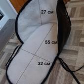 Меховая подстилка в санки